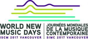 ISCM World New Music Days 2017 logo