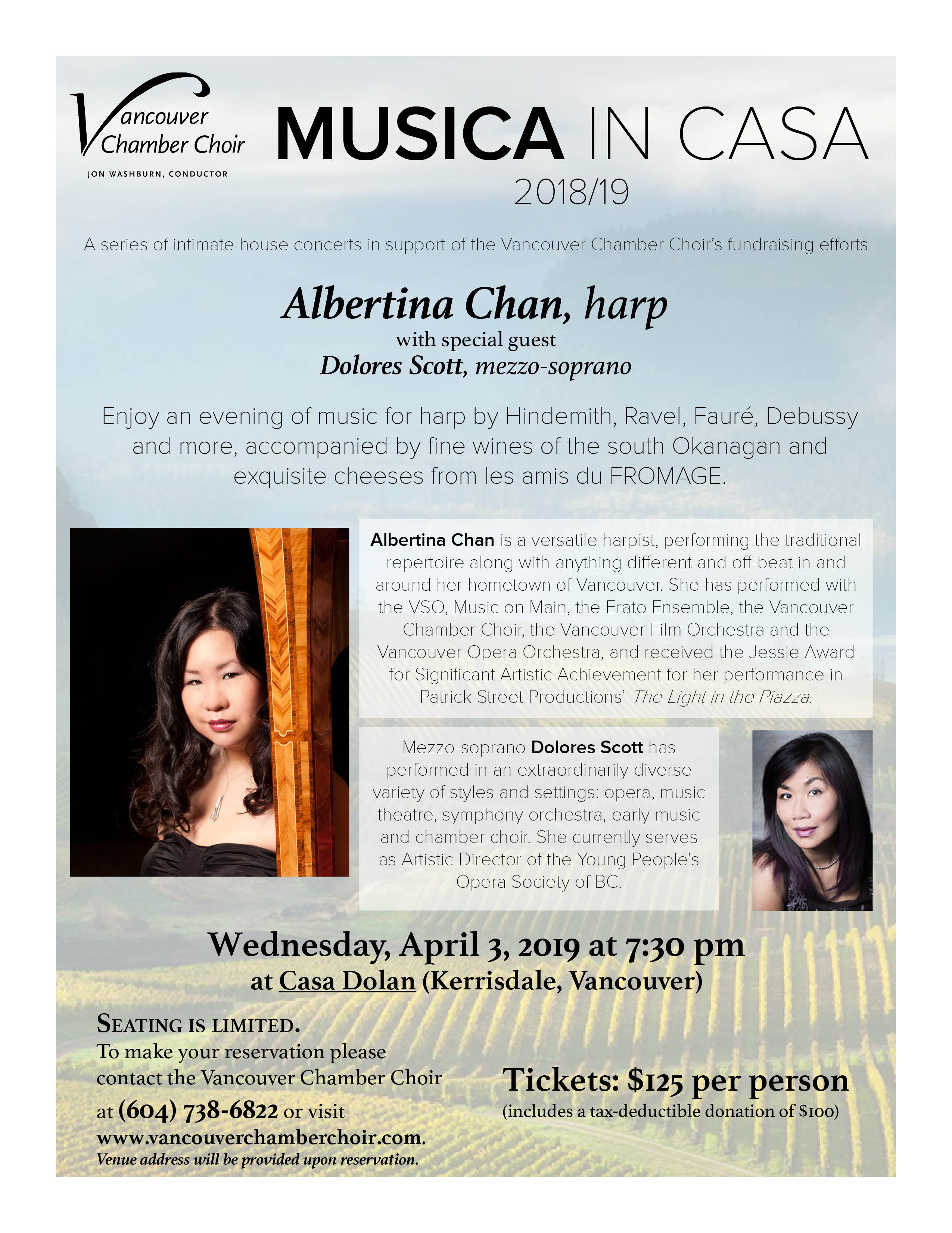 Musica in casa with Albertina Chan and Dolores Scott