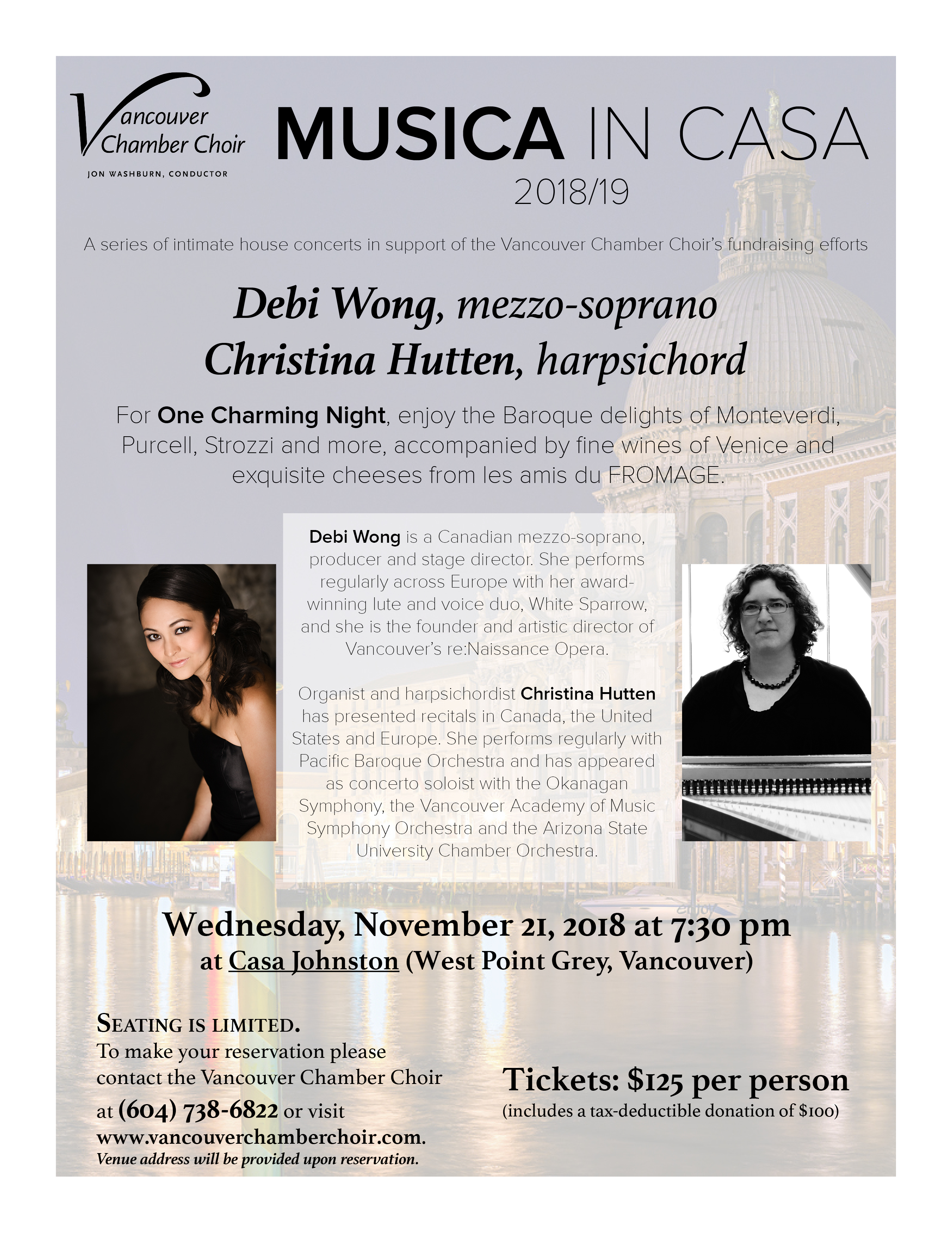 Musica in casa with Debi Wong and Christina Hutten