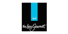The Lazy Gourmet logo