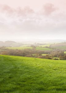 English pastoral background